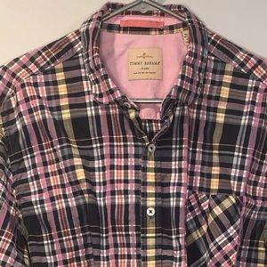Tommy Bahama Jean Plaid long sleeve shirt XL